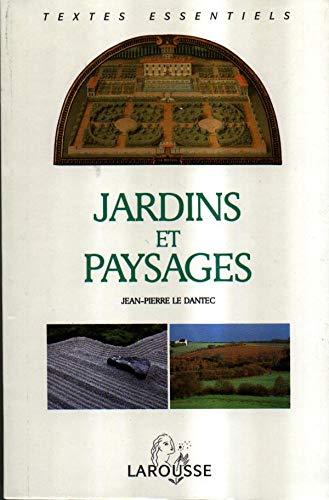 9782037410236: Jardins Et Paysages - Textes Critiques De L'antiquité À Nos Jours