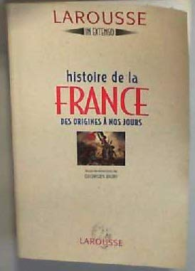 9782037500067: Histoire de la France des origines à nos jours