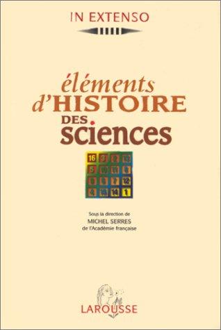 9782037500388: Eléments d'histoire des sciences