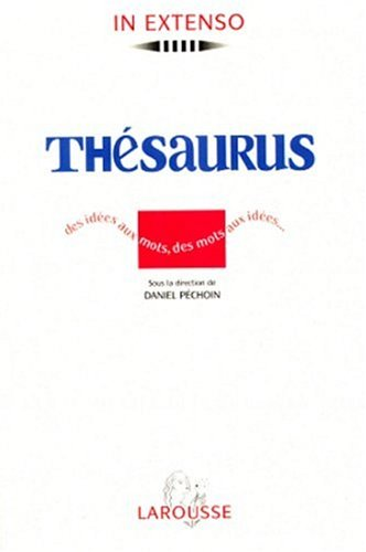 9782037500685: Thesaurus (French Edition)