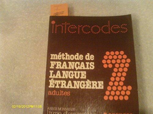 9782038000061 Intercodes Methode De Francais Langue
