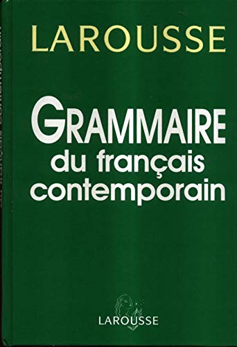Grammaire du français contemporain (French Edition): Chevalier, Jean-Claude