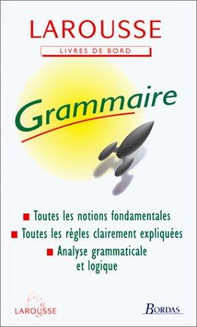 9782038001228: Grammaire (Livres de bord)