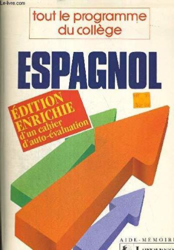 9782038004588: Espagnol / tout le programme du college