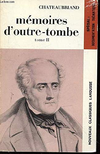 9782038700282: Memoires d'outre-tombe tome 2