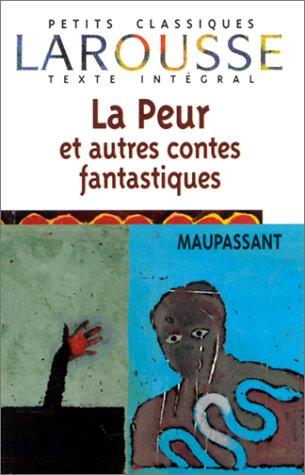 9782038712759: La peur : Et autres contes fantastiques