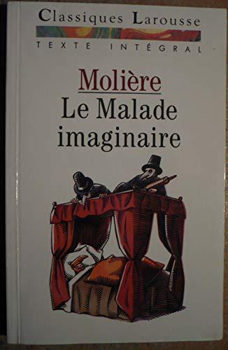 9782038713107: Le Malade imaginaire : Comédie-ballet (Classiques Larousse)