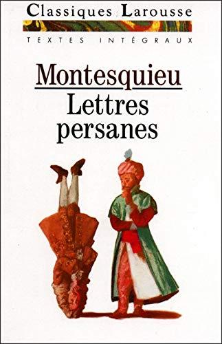 Lettres persanes: baron de Montesquieu