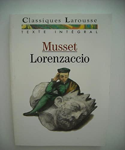 Lorenzaccio Musset, Alfred de: Musset