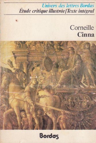 9782040036324: Cinna (Les classiques Bordas)