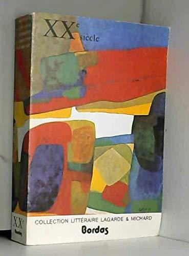 9782040078300: Lagarde et michard xxe siecle (broche)
