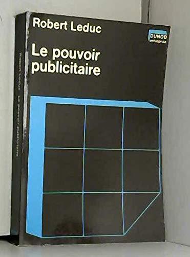 9782040101503: Le Pouvoir publicitaire