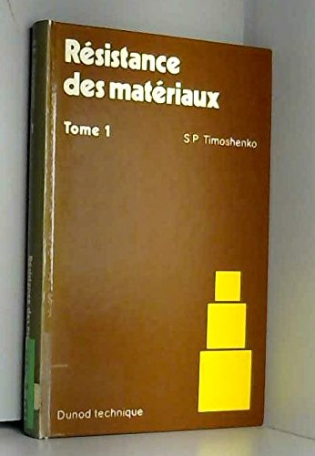 9782040102678: RESISTANCE MATERIAUX T1.