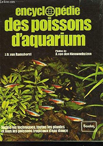9782040125448: Encyclopédie des poissons d'aquarium