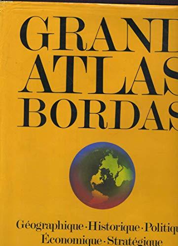 9782040153298: Grand atlas Bordas