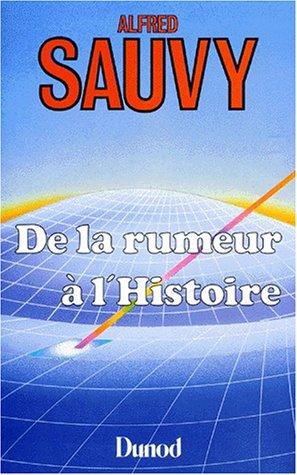 9782040154646: De la rumeur à l'histoire (L'Œil économique) (French Edition)