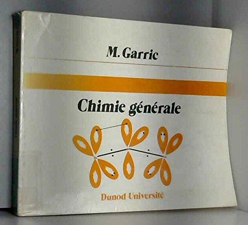 9782040155414: CHIMIE GENERALE. : 3ème édition