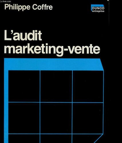 L'Audit marketing-vente
