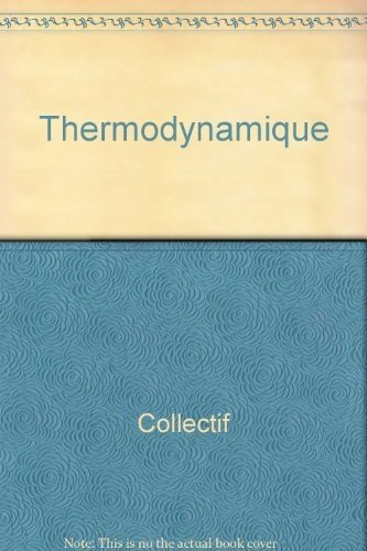 9782040157227: Thermodynamique