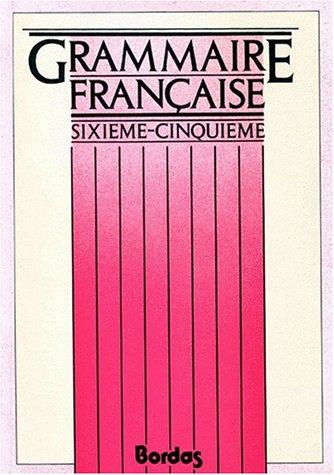 9782040158842 Grammaire Francaise 6eme Et 5eme Initiation