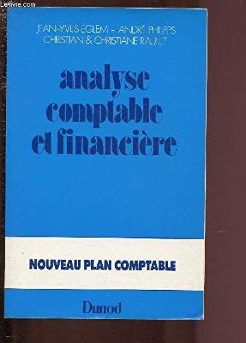 9782040159634: Analyse comptable et financière