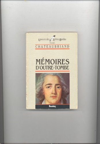 9782040160135: Memoires d'Outre-Tombe (French Edition)