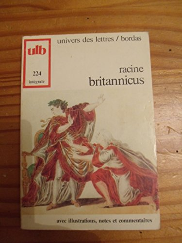 9782040160746: Britannicus (French Edition)