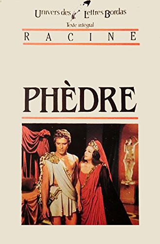 9782040160760: Phedre (French Edition)