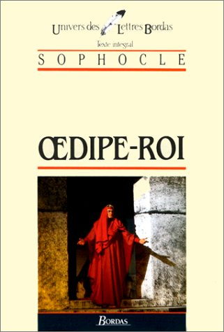SOPHOCLE/ULB OEDIPE-ROI (Ancienne Edition): n/a