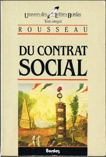 Du Contrat Social (French Edition): Rousseau