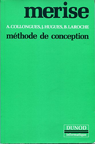 9782040165277: MERISE, méthode de conception
