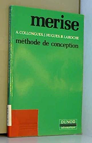 9782040165277: MERISE, méthode de conception (Dunod informatique) (French Edition)