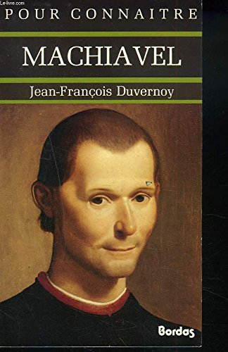 Machiavel: DUVERNOY (Jean-François)