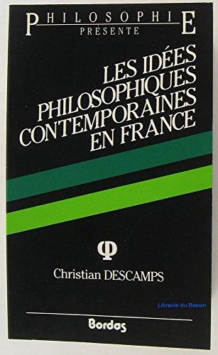 9782040166137: DESCAMPS/IDEES PHILO.AP (Ancienne Edition)