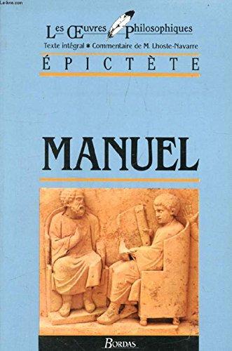 9782040168988: EPICTETE/ULB MANUEL (Ancienne Edition)