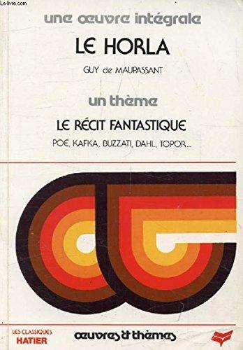 9782040170219: Le Horla et autres contes cruels et fantastiques (Classiques Garnier)