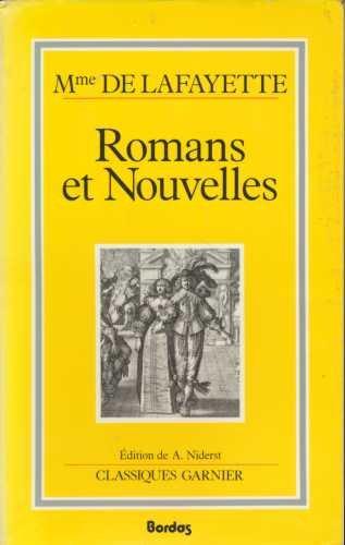 Romans et Nouvelles.: Mme De Lafayette.