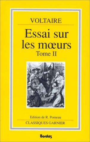 9782040173654: Essai sur les moeurs et l'esprit des nations et sur les principaux faits de l'histoire depuis Charlemagne jusqu'� Louis XIII, tome 2