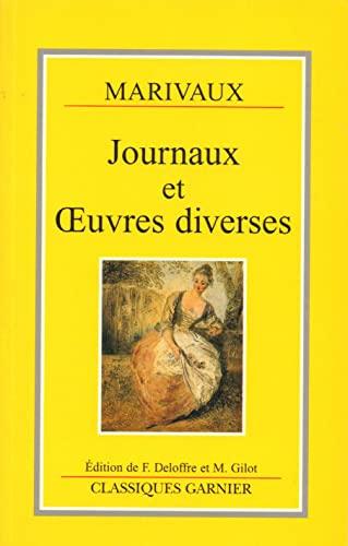 9782040174163: Journaux et oeuvres diverses