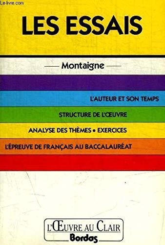 9782040183936: O.CL/MONTAIGNE ESSAIS (Ancienne Edition)