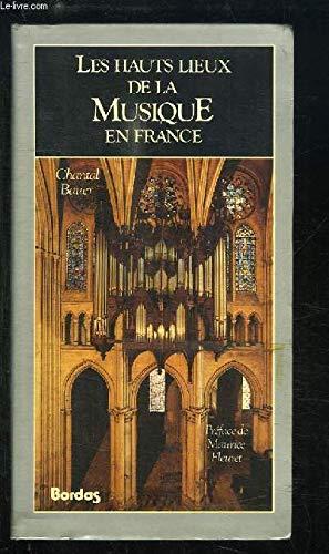 9782040185046: Les hauts lieux de la musique en France (Le Voyage culturel) (French Edition)
