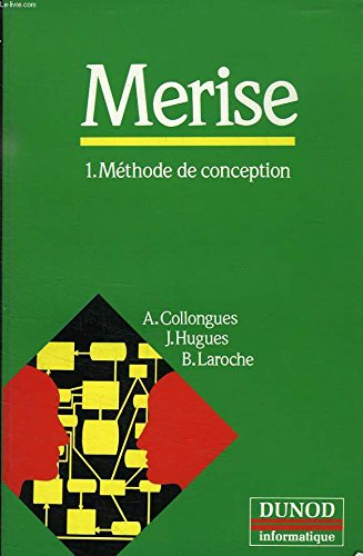 9782040186197: MERISE, méthode de conception