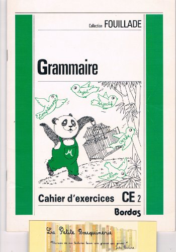 9782040190255: GRAMMAIRE CE2. Cahier d'exercices