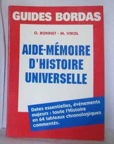 9782040194987: BONNET/AM HISTOIRE UNIV. (Ancienne Edition)