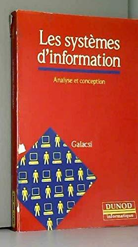 9782040196073: Les Systèmes d'information : Analyse et conception