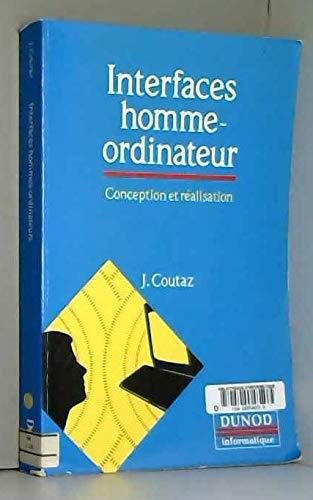 9782040196356: Interfaces homme-ordinateur : Conception et réalisation