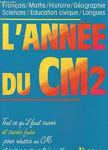 9782040208110: Annee Du Cm2 -L'