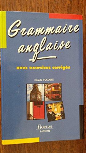 9782040208455: Grammaire anglaise avec exercices corrigés