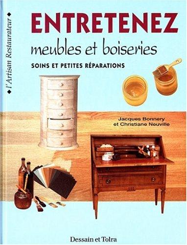 9782040217990: Entretenez meubles et boiseries