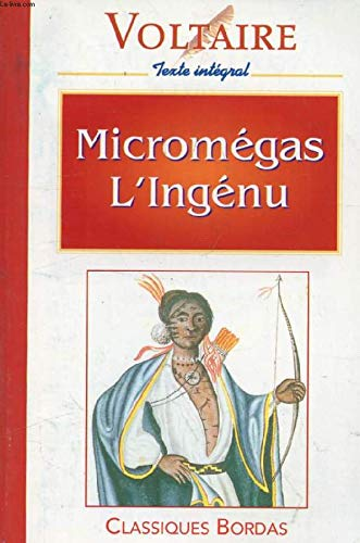 Micromegas L'Ingenu (French text version): Voltaire